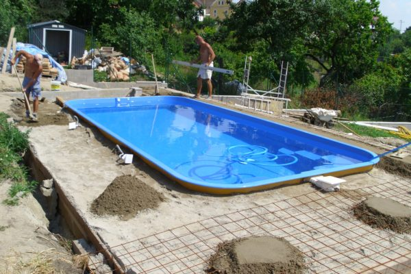 Stavím bazén