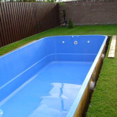 Informace o stavbě bazénu