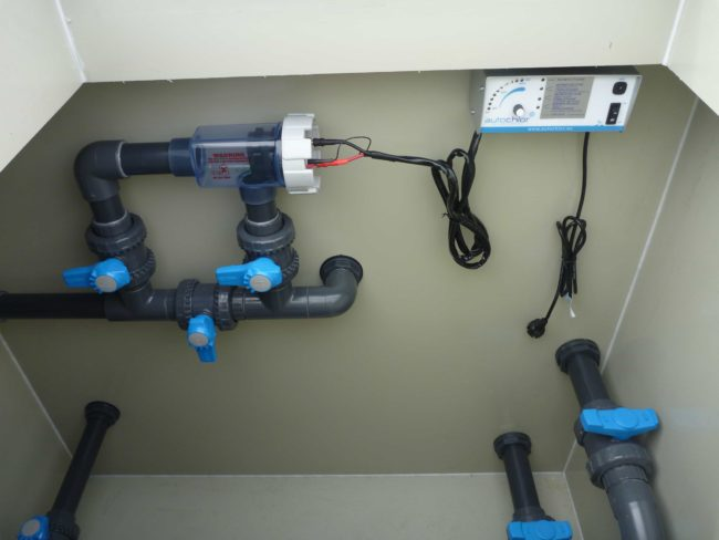 Jednotka na úpravu slané vody