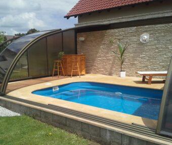 Bazén Malorka s úložným prostorem u bazénu