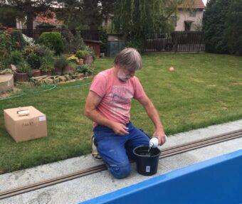 Kyblíková metoda - dávkování zazimovacího prostoru