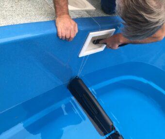 Vysávání skimmeru