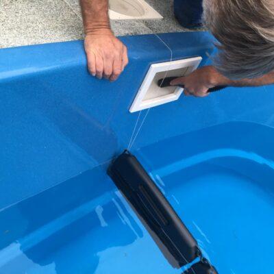 Odzimování a zazimování bazénu